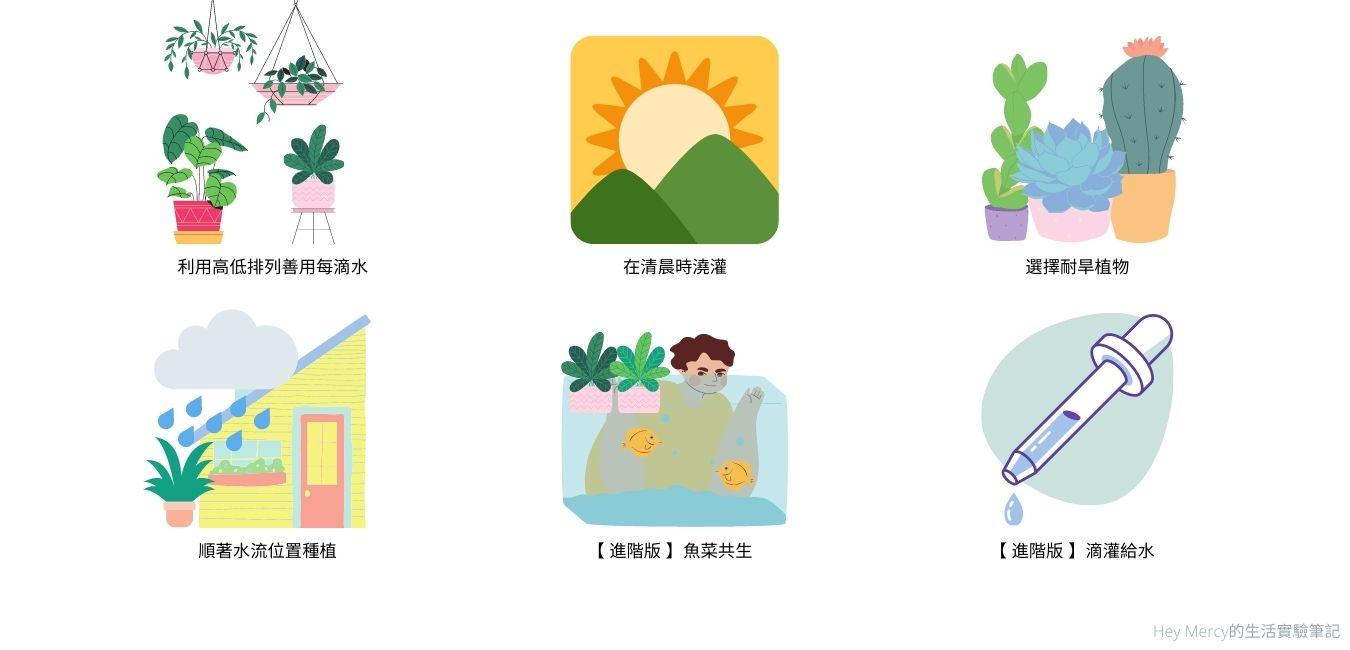 植栽省水方法